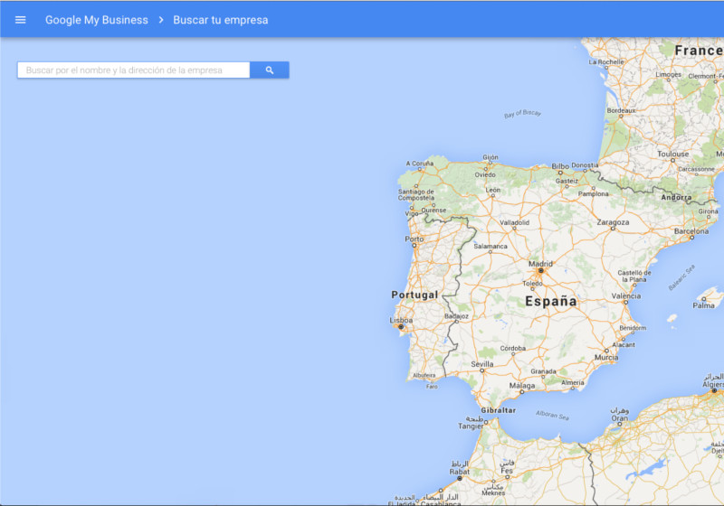 Google + mapa