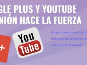 Google plus y Youtube, el tandem perfecto.