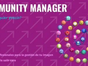 Servicios de Community Manager, ¿a cualquier precio?.