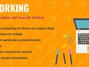 Negocio Online, Virtual o físico… Coworking.